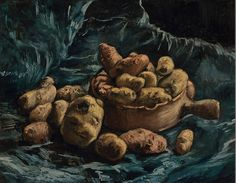 All sizes | Vincent van Gogh - Still Life with Potatoes [1885] | Flickr - Photo Sharing!
