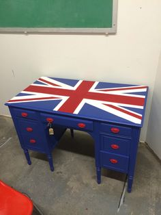 British Flag desk, Union Jack