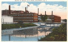 Brown & Sharpe Co's Plant, PRovidence, RI, 1918