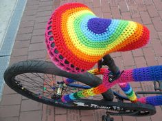 Crochet Bomb Bike l NyanPon's Knits and Crochet: I want to ride my bicycle