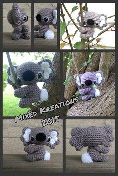 Crochet Koala - pattern from adorablykawaii