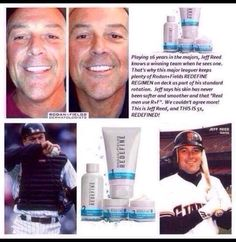 Rodan + Fields isn't just for women! See why professional athletes, celebrities, musicians, and successful professionals are joining and loving the skin they're in!