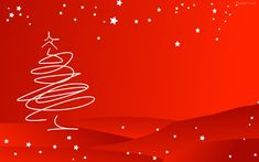 Red christmas background Christmas is coming, the bells are ringing. Which color wallpaper will you use to decorate your desktop, iPad or iphone for