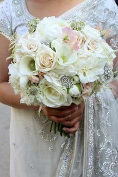 vintage garden wedding bouquet.So Beautiful.