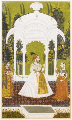 Lot | Sotheby's Pichwai Paintings, Mughal Paintings, Indian Art Paintings, Indian Traditional Paintings, Traditional Art, Turbans, Mughal Miniature Paintings, Madhubani Art, Indian Folk Art