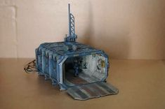Warhammer 40000, Warhammer Paint, Warhammer Models, Warhammer Terrain, 40k Terrain, Wargaming Terrain, Warhammer Imperial Guard, Container Conversions, Diy Table Top