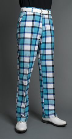 Golf is the only sport where straight men can wear loud colored-wacky-printed pants and survive.