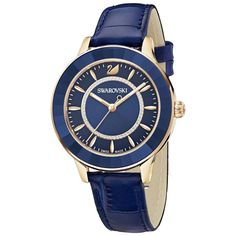 bee74a7a2 Swarovski Octea Lux Watch, Leather strap, 5414413 | Duty Free Crystal |  Duty Free
