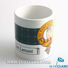 Lamont Clan Crest Mug