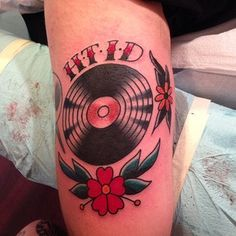 Vinyl tattoo, that's pretty much how I'd like mine, maybe less symmetrical.