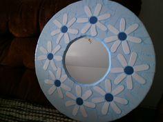 Mosaik Frühlings-spiegel