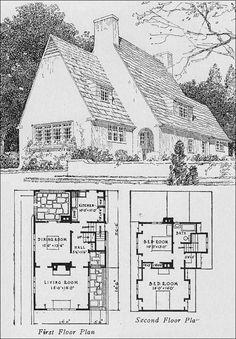 cottage 2 | Home | Pinterest | Simple floor plans, English ...