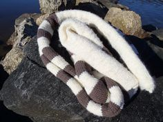 Stana's Critters Etc.: Knitting Pattern for Long Stripy Scarf