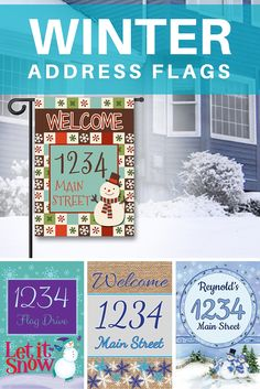 1000 Images About Custom Address Flags On Pinterest
