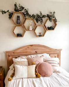 blog post with all the details + links for my bedroom makeover! Bedroom Decor For Teen Girls, Room Ideas Bedroom, Teen Room Decor, Small Room Bedroom, Small Teen Room, Bedroom Ideas For Small Rooms Diy, Small Apartment Bedrooms, Teen Rooms, Bohemian Bedroom Decor