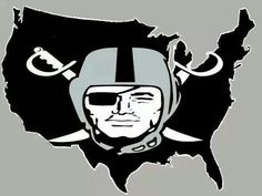 One Silver and Black Nation. As it should be.