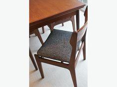 Vintage Teak Dining Set (6 chairs/table)