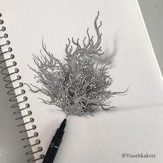 An update from the previous post . #original #art #visothkakvei