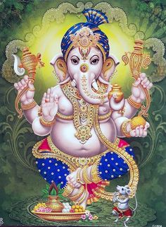 Today is Vighnaraja Sankashti Chaturthi. It is one of the 13 Sankashtahara Chaturthi Vrathams. It is believed that people those who observe vrat and offer special pujas to Lord Ganesha on Sankashti Chaturthi will get relief from all problems in life. Ganesh Images, Ganesha Pictures, Lord Krishna Images, Shiva Art, Hindu Art, Indian Gods, Indian Art, Ganesh Lord, Ganesh Wallpaper