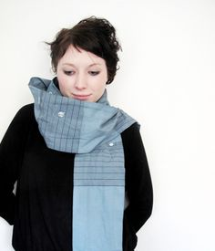 Milch Scarf #gray #scarf