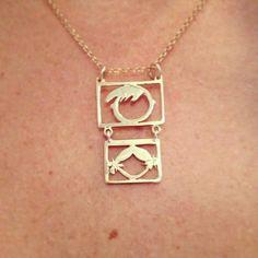 Pingente filhos- personalizada Ouro amarelo 18k.   peças em ouro somente  por encomenda Joias cec59530e4
