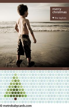 Dotty Design - Holiday Cards - www.metrobabycards.com