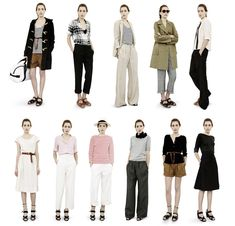 Margaret_Howell I know this is a few years behind, but her style is so timeless it does not matter. Margaret Howell, Laura Lee, Gamine Style, Fashion Figures, Pinterest Fashion, Minimal Fashion, Minimal Chic, Capsule Wardrobe, Travel Wardrobe