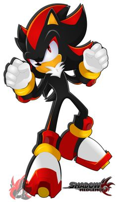 Shadow the Hedgehog | Shadow The Hedgehog- by =HyugaTheHeDemon on deviantART