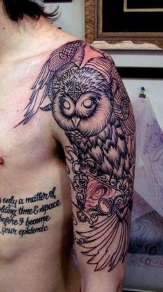 My next owl tattoo