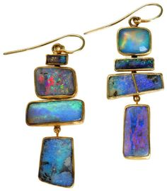 Judy Geib Plus Alpha ~ Catalog 34: Totems in Opal. These are awesome!