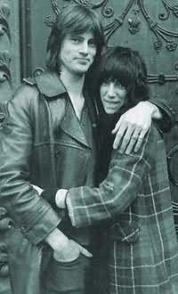 Patti Smith and Sam Shepard | Found on todayinliterature.com