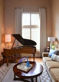 Image Result For How To Decorate A Small Living Room With Baby Grand Piano