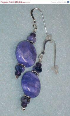 On Sale Now 925 Sterling Silver Purple Jasper &  by dsmenagerie, $17.79