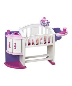 This My Very Own Doll Nursery by American Plastic Toys is perfect! #zulilyfinds