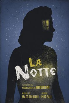 La Notte / The Night Movie Poster on Behance