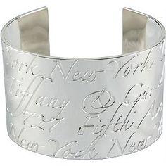 Tiffany & Co. Notes Cuff Bracelet