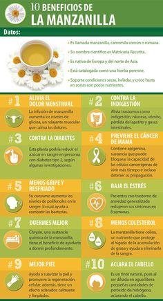 Beneficios manzanilla piel