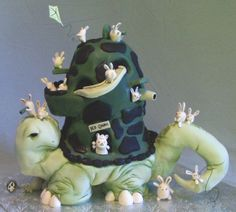 Hi, my name is Kandy from ~Kandy cakes~!!This cake took us 4 days amid the hand full of other cakes...