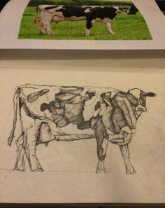 Cow, work in progress