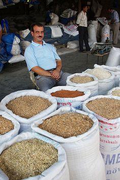 At Şəki market by Pkabz, Azerbaijan, via Flickr
