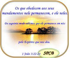 Salmos - Proverbios e passagens da Bíblia: Como Discernir os Espíritos (1 João 3:22-24--4:1-6...