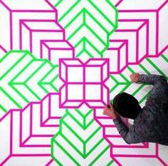 aakash nihalani street art tape modern gallery new york 11