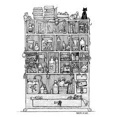 Universal Elixers art by me @monstersinsuits Prints avail in my etsy.  #drawingoftheday #artwork #art #artoftheday #myart #illustration #drawing #sketch #sketchbook #ilovemonsters #coolmonsters #coolart #darkart #penandink #creatureart #instaart #monsters #micron #draw #drawing #doodle #monstersinsuits #handdrawn #newband #drawingskills #markers #pencil #pen #creatureart #gothart #cartoon #inkreview