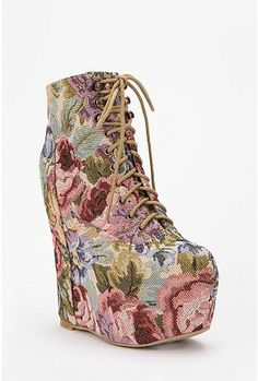i don't give a sh*t about what you think, i WANT these.    Jeffrey Campbell Damsel Wedge