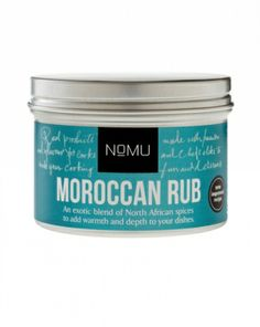 NoMU Moroccan Rub | Our most popular Rub, this is an exotic blend of North African spices to add warmth and depth to your dishes. From roast lamb or veggies to the perfect tagine chicken or lamb, this is an incredible all-rounder