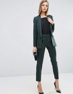 ASOS Premium Tailored Suit in Forest Green