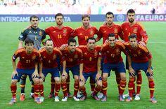 Spain Soccer Team - best team ever! Fifa Football, Best Football Team, Football Players, Football Kits, College Football, Uefa European Championship, European Championships, Spanish Soccer Players, Spain Vs Italy