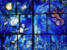 "Marc Chagall. Vidriera de la serie  ""América Windows"", 1977"