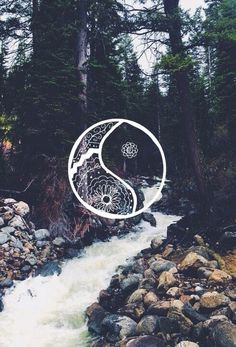 Pretty yin yang