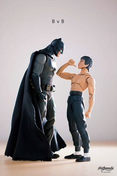 Much to my fatherly delight, my son has grown up into a 7-year-old who loves action figures. As an aficionado myself, and the one who has to pay for the dang expensive things, I've taught him to pay attention to how articulated they are; how many joints they have and... #photo #superheroes #toys